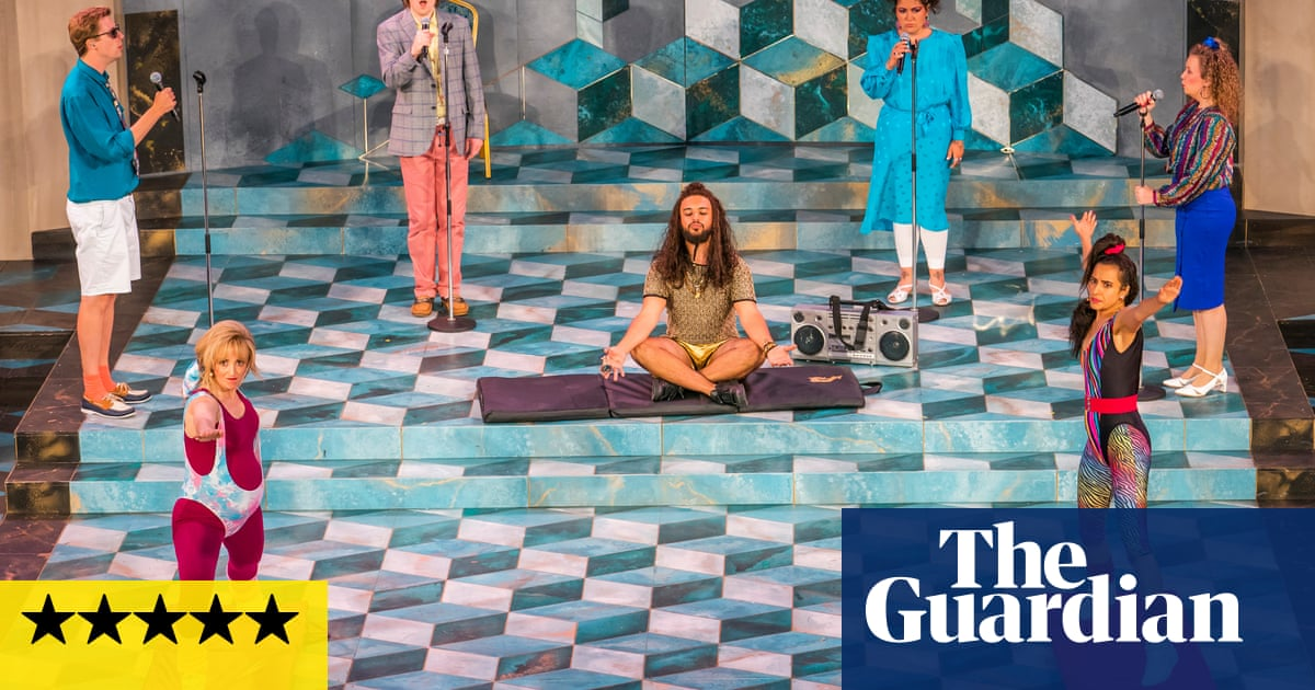 The Comedy of Errors review – exhaustingly funny take on identity and reality