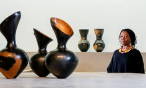 Magdalene Odundo New Exhibition, The Hepworth Wakefield, Gallery Walk, Wakefield, West YorkshireThursday 14th February 2019