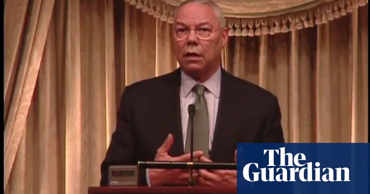 Colin Powell discusses the most important element of leadership in 2011 speech – video