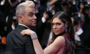 Robbie Williams: Russian video shows pop's licensed rogue still
