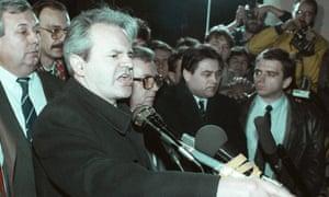 Resultado de imagen de Milosevic