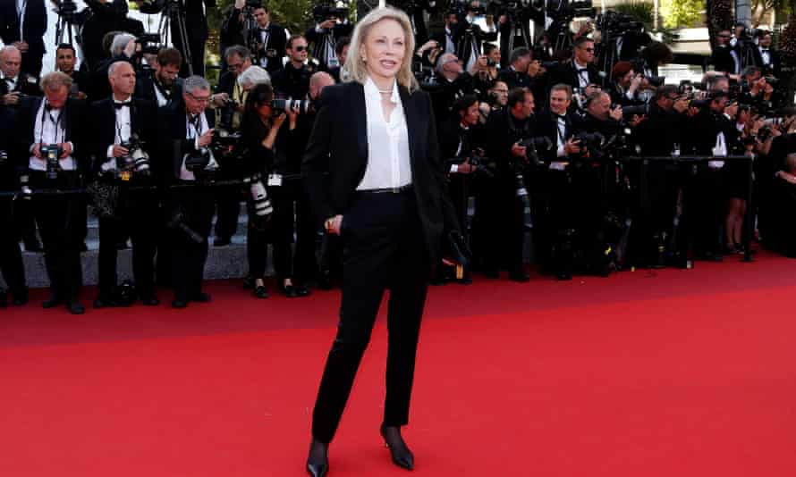 Faye Dunaway at Cannes in 2016.