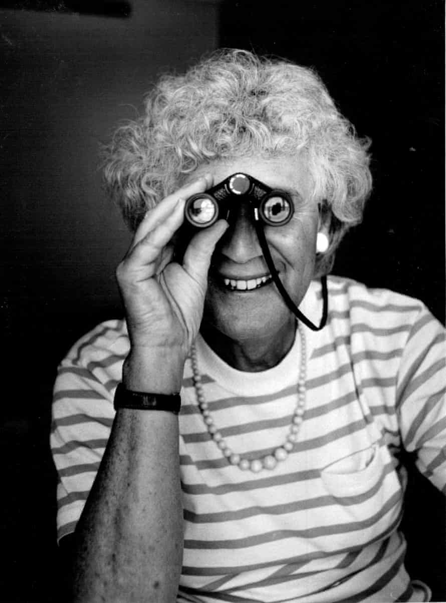 Jan Morris, Travel writer, authoress. March 2, 1988. (Photo by Peter Kevin Solness/Fairfax Media via Getty Images).
