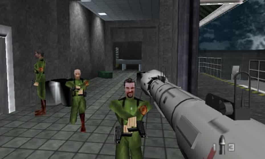 Spy games ... GoldenEye 007.