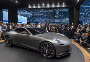 The Piech Mark Zero electric car, which claims to be able to charge to 80% in five minutes and has 310 mile (500km) range. The company is fronted by the son of Ferdinand Piech, the former head of Volkswagen