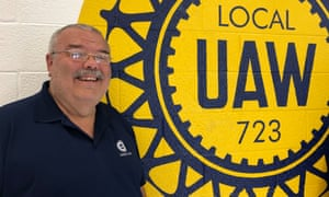 Michael Keck, who worked at the Ford factory, where 3,200 jobs were lost when the factory closed in 2008, for 33 years and is a United Auto Workers (UAW) official.