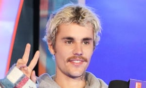 Justin Bieber pictured earlier this month.