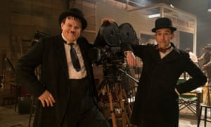 Still from Stan & Ollie (2018), with John C Reilly and Steve Coogan.