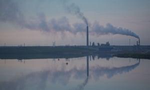 The Syncrude tar sands facility near Fort McKay, in Alberta, Canada.