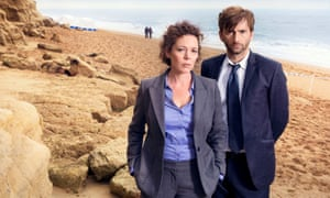 Colman won a Bafta best actress award in 2014 for her role in Broadchurch, which also starred David Tennant.