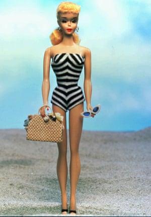The original 1959 Barbie doll