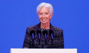 Christine Lagarde said punitive tariff systems could lead to world trade breaking down.