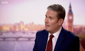 Keir Starmer sur le spectacle Andrew Marr
