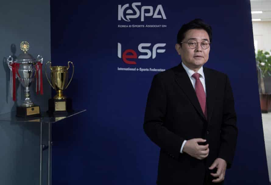 Mr. Jun Byung Hun, the President of the Korean eSports Association and President of the International eSsports Federation.