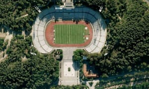 Gappy: Lisbon's Estadio Nacional.