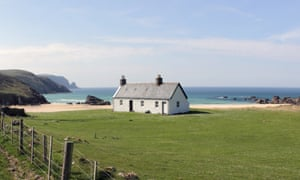 Kearvaig bothy in the Western Highlands, the finest expression of the non-commercial ethos of the Mountain Bothy Association.
