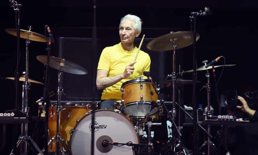 'I owe my living to blues drummer Freddie Below' ... Charlie Watts. Photograph: Kevin Winter/Getty Images