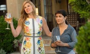 Beatriz at Dinner review – Salma Hayek takes on white