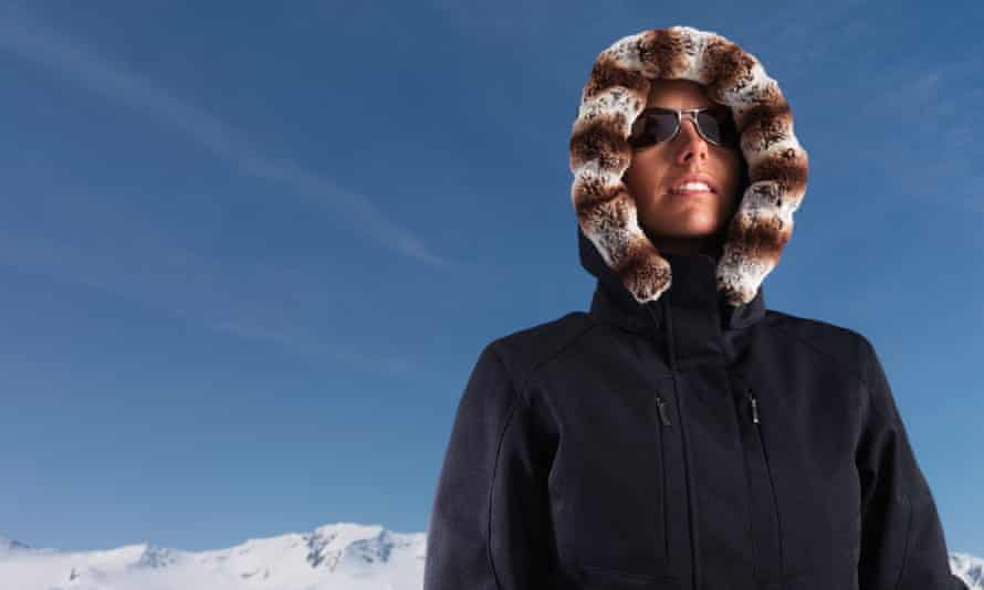 woman parka winter coat