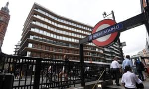 The London HQ of Bell Pottinger.