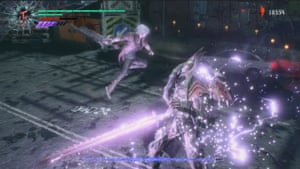 action from Devil May Cry 5.
