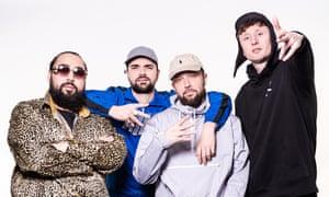 Kurupt FM's Chabuddy G, Grindah, Beats and Steves reunite.
