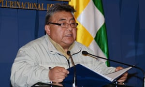Bolivia's president has called the death of Rodolfo Illanes, pictured, 'a conspiracy'.