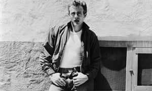 James DeanAmerican actor James Dean (1931 - 1955) leans against a wall on the set of director Nicholas Ray's classic film, 'Rebel Without a Cause', 1955. (Photo via John Kobal Foundation/Hulton Archive/Getty Images)