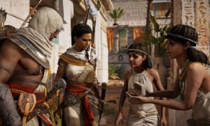 Ubisoft has looked to recreate the language of Ancient Egypt, using source materials and input from historians and linguists
