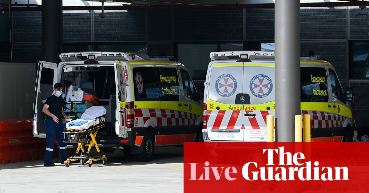 Australia Covid live news: Australian Medical Association says hospitals are not ready for reopening