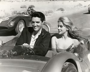 Presley and Ann Margaret in a scene from Viva Las Vegas