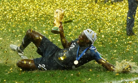 The best photos from France's World Cup final win over Croatia