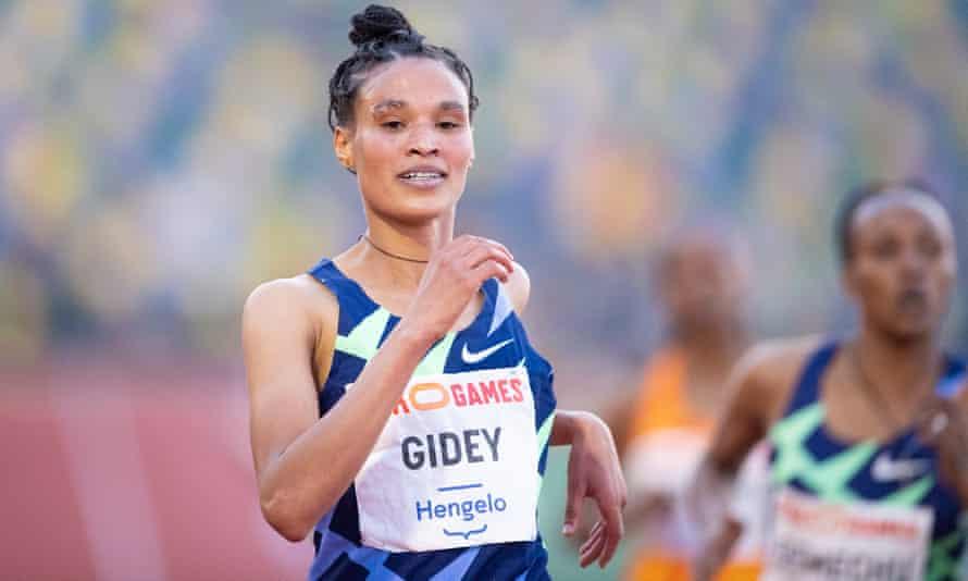 Letesenbet Gidey ran the final lap in 63 seconds.