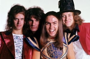 Slade … whose Christmas hit is peculiarly British.