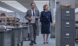 Tom Hanks and Meryl Streep in The Post.