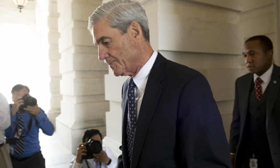 Robert Mueller is investigating Russian interference in the 2016 US election, and links between the Trump campaign and Moscow.