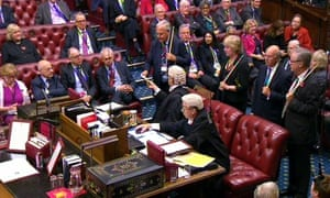 House of Lords tax credits vote