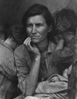 Migrant Mother, Nipomo, California, 1936.