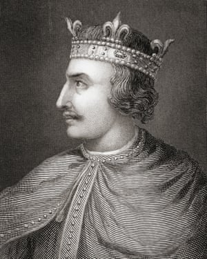 Henry I, the fourth son of William the Conqueror, ruled England from 1100 to his death in 1135.