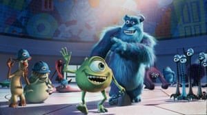 Golden age for animation … Pixar's Monsters, Inc.