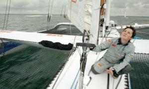 Round-the-world yachtswoman Ellen MacArthur, in 2006.