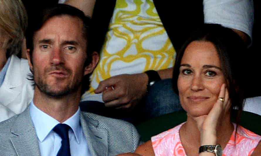 Middleton and Matthews at Wimbledon last summer.