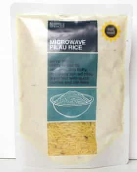 Marks and Spencer's microwave rice