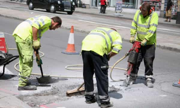 'The worst part is when they do roadworks.'