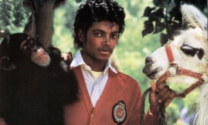 Photo of Michael JACKSON<br>UNSPECIFIED - JANUARY 01:  (AUSTRALIA OUT) Photo of Michael JACKSON; Michael Jackson with chimp Bubbles and pet llama  (Photo by GAB Archive/Redferns)