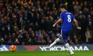 Oscar of Chelsea makes it three.
