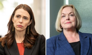 New Zealand Prime Minister Jacinda Ardern and National Party Leader Judith Collins