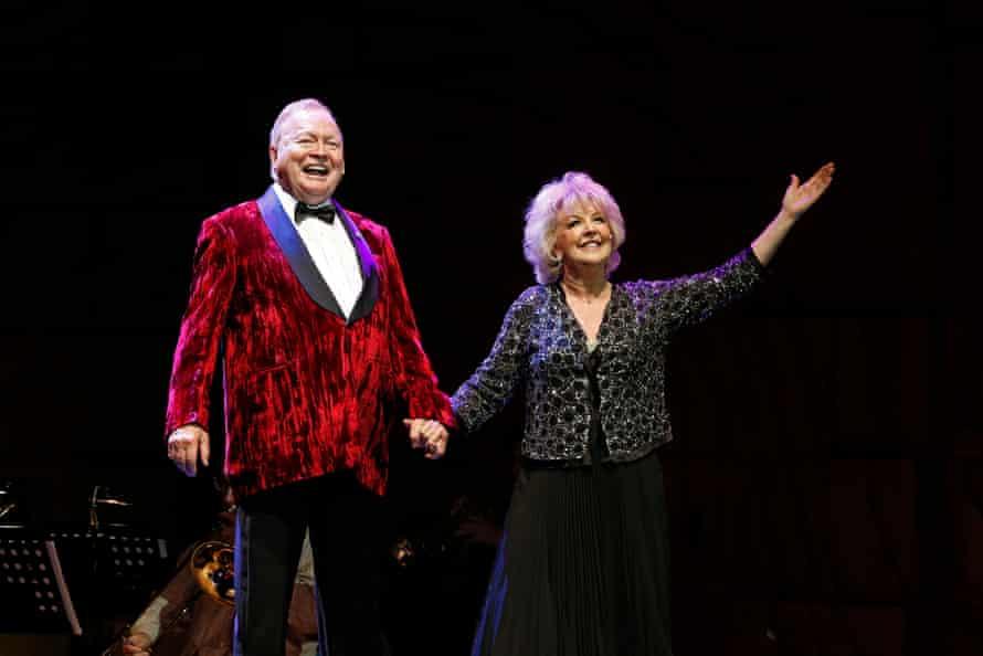 Bert and Patti Newton as Theodore and Emily Whitman
