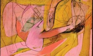 Pink Angels by Willem de Kooning