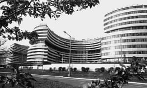 The Watergate complex in Washington DC ion 20 April 1973.
